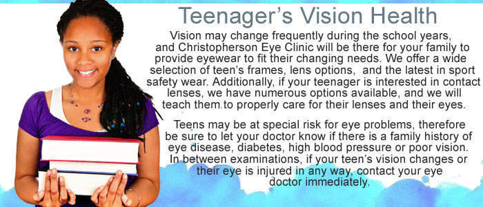 Healthy Vision and Teens